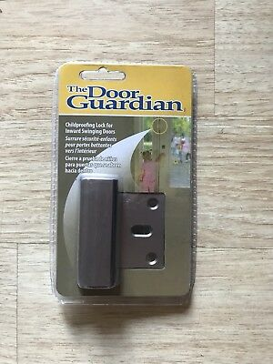 The Door Guardian Child Proof Lock Inward Swinging Doors Alzheimers Dementia