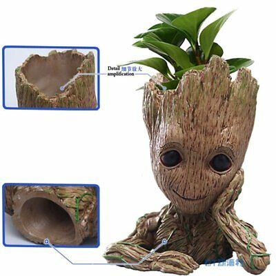 Guardians Of The Galaxy Vol. 2 Baby Groot Flowerpot Pen Pot Figure Gift Toy