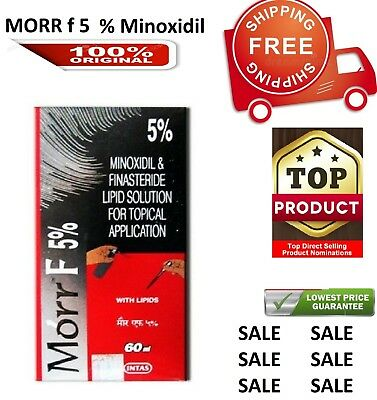 Morr-F for Hair Regrowth FDA Approved DHT Blocker (60 ml) LONG EXPIRY+ AUTHENTIC