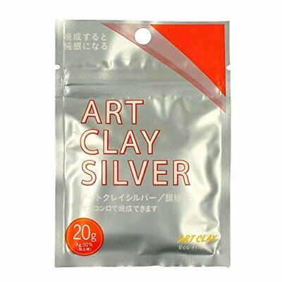 NEW Art Clay Silver 20g Clay Type Precious Metal Clay Silver PMC Low fire Japan