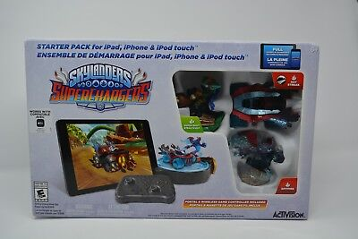 Skylanders Super Chargers Starter Pack For iPad, iPhone & IPod Touch (NIB) iOS