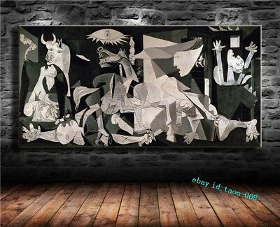 PABLO PICASSO,GUERNICA 1937,CANVAS HD Prints Painting Wall Art Home ...