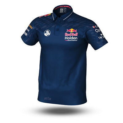 Holden Red Bull Racing 2018 Team Polo Shirt Sizes S-3XL BNWT