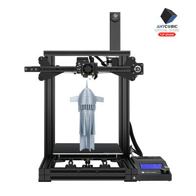 EU STOCK ANYCUBIC 3D Printer I3 Mega Upgrade DIY Metal Frame with PLA Filament