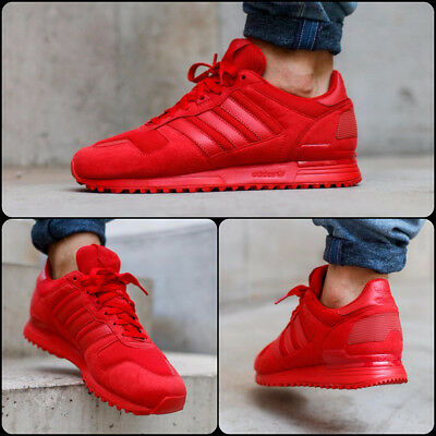 Adidas Originals Zx 700 Triple Red New Mens Man Trainers Bnib Sizes Uk 10 11 13