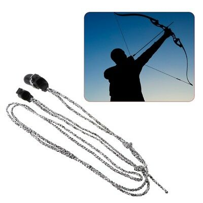 Outdoor Recurve Bow Stringer Bow Sliding Traditional Hunting Sports Nylon Rope