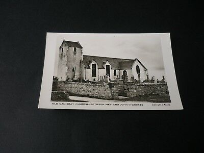 Old Canisbay Church - Between Mey and John O'Groats, Real Photographic postcard