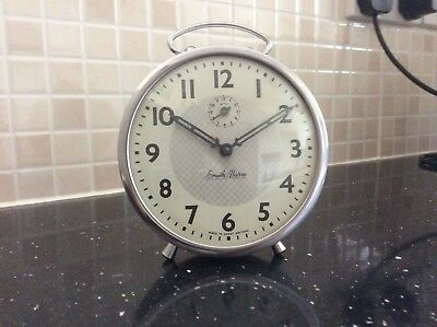vintage smith alarm clock