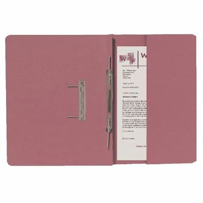 Guildhall Pink Foolscap Right Hand Pocket Spiral File (Pack of 25)  [GH25488]