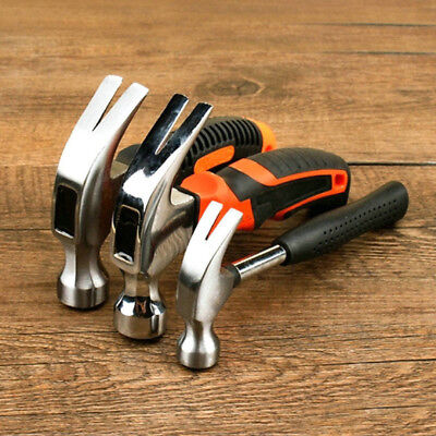 Mini Multifunction Carbon Steel Woodworking Hammer Tool Small Claw Hammer