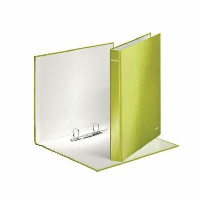 Leitz Wow A4+ 25mm Green 2 D-Ring Binder (Pack of 10) 42410064 [LZ32889]