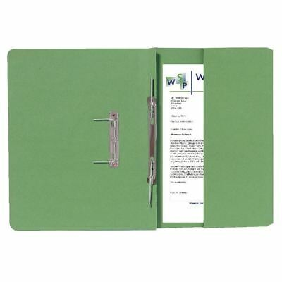 Guildhall Green Foolscap Right Hand Pocket Spiral File (Pack of 25) [GH25486]