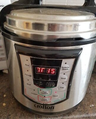 Crofton -Digital Electric Pressure Cooker,