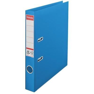 Esselte A4 Polypropylene 50mm Blue Lever Arch File (Pack of 10) 48075 [ES80755]