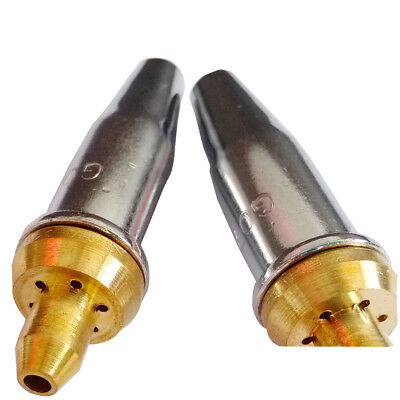 5x G07-30 2# 1.4mm Copper Nozzle Tip for Welding Propane Cutting Gas Torch ASSY