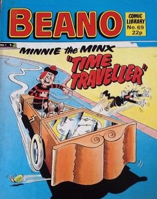 Beano Comic Library 69 Minnie the Minx Time Traveller