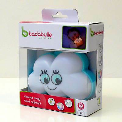 Badabulle Luce Notte Nuvola Musicale Cloud Night Light