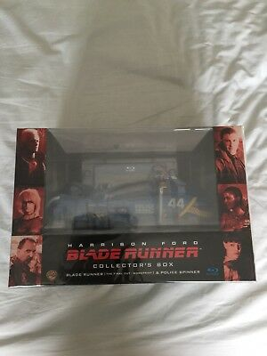 Blade Runner Collectors Box Police Spinner Blu Ray