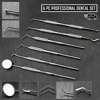 Professional Dental Kit Dentist Pick And Filling Tool Kit.made In High Steel