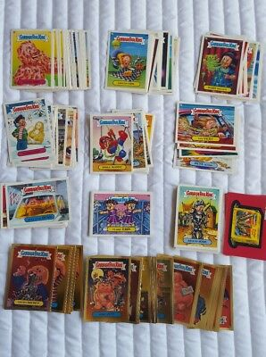 Original 1986 Garbage Pail Card Stickers 100+ cards Brand new