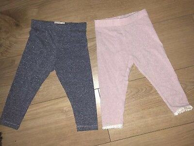 Girls Next Sparkly Leggings 12-18 Months