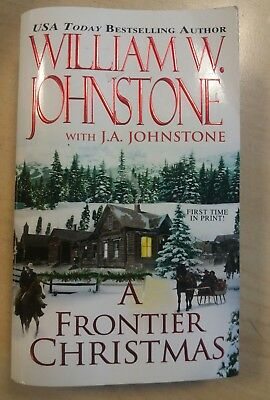A Frontier Christmas, William W Johnstone, Book Paperback, USA Today Bestselling