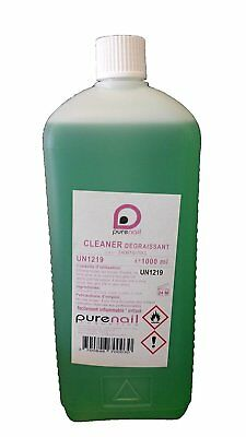 Grand Nail CLEANER Large Nail degreaser 1L for UV Gel and Fake Nail by PURENAIL