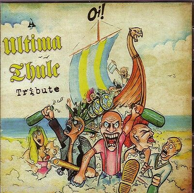 v/a OI! A  ULTIMA THULE TRIBUTE LP pagan viking punk vicious rumours generation