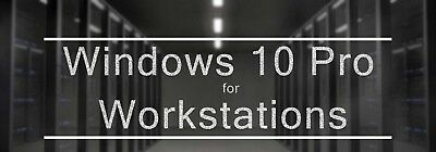 Windows 10 Pro for Workstations version 1803 (Download and license key)