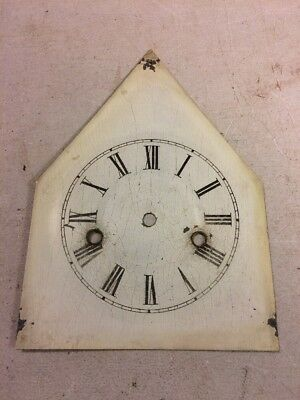 Antique Ansonia Brass Co. Sharp Gothic Steeple Clock Dial