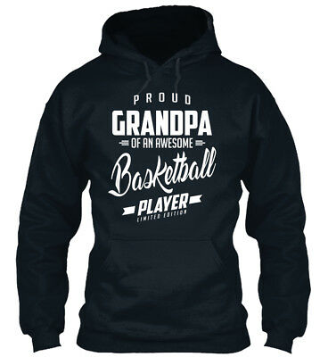 In style Fathers Day 2018- Proud Grandpa Of An A Standard College Hoodie