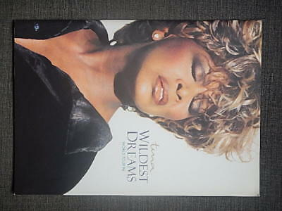 "Tina Turner ""Wildest Dreams"" Tour Programme & Tickets. 1996"
