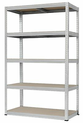 Hans Schourup 13501095 Long Span Shelving with 5 Shelves MDF Drive, Load Capacit