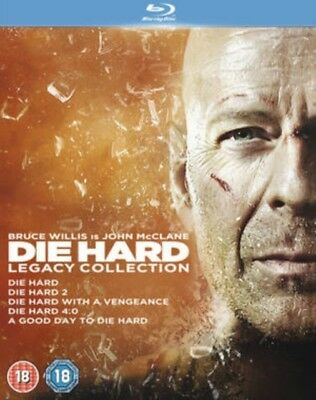 Die Hard - Legacy Collection (5 Films) Blu-Ray NEW BLU-RAY (5643407000)