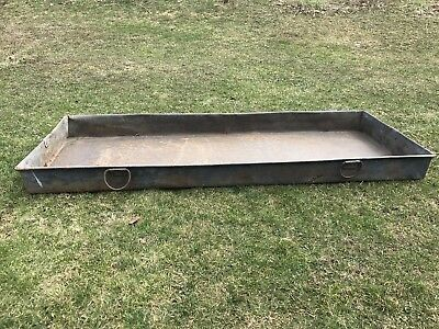 Country primitive Sap Evaporating Pan, 84x7x32, Maple Syrup, Sugar Shak,