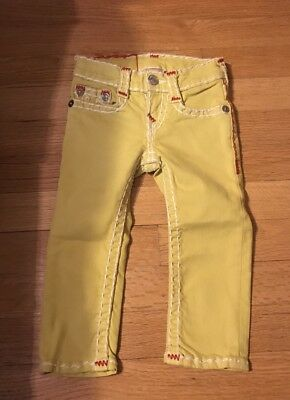 Toddler True Religion Jeans Size 2t Slim Straight NWT Very Nice!!