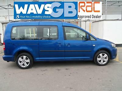 Volkswagen Caddy Maxi 1.6TDI Mobility Wheelchair Access Vehicle Disabled WAV