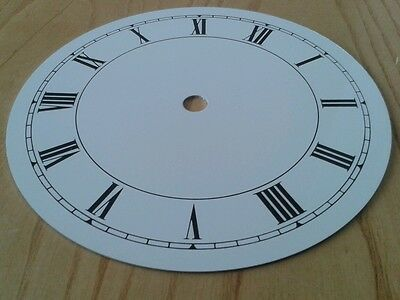 Clock Dial 155mm Roman Enam