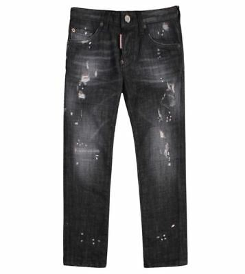 Dsquared2 Kids Skater Jeans Grey - 8Y - 16Y (Was £210, NOW £170)