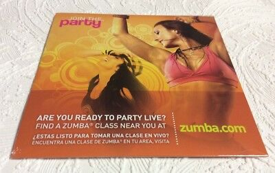 Zumba Join The Party, DVD, Zumba Fitness, New And Sealed In  Factory Shrink Wrap