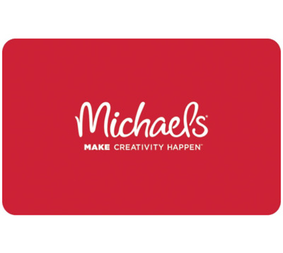 Buy a $25 Michael's Gift Card, get an add'l $5 ($30 value) - Via Email Delivery