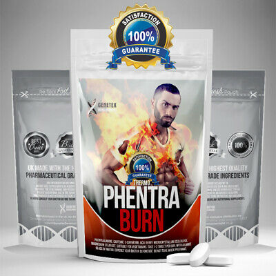 Fat Burner Phentra Burn ✶ Weight Loss Slimming Tablets Diet Pill ✶ T3 T4 T5 T6