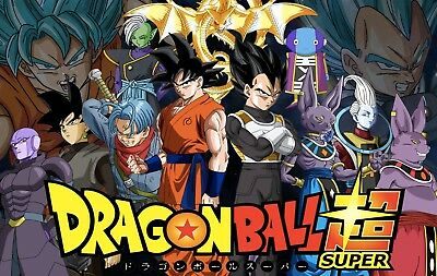 Dragon Ball Super Complete Anime 1-131 (1-64 English Dubbed) + Movies