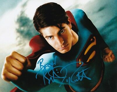 BRANDON ROUTH AUTOGRAPHED SIGNED SUPERMAN RETURNS 8X10 PHOTO w/ PROOF {b}