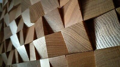 4x New 2D Quality SOLID OAK WOOD Diffuser skyline acoustic wall solid wood panel