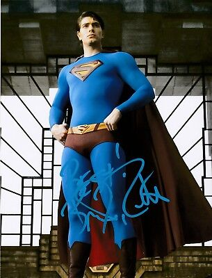 BRANDON ROUTH AUTOGRAPHED SIGNED SUPERMAN RETURNS 8X10 PHOTO w/ PROOF {a}