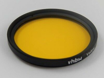 Camera universal color filter (yellow) for 67mm threads