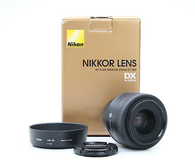 Nikon AF-S DX Nikkor 35 mm 1.8 G + TOP (219517)