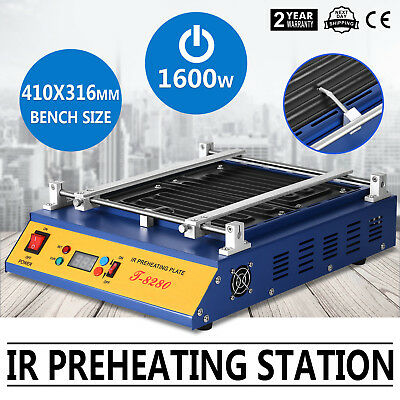 IR Preheating Oven T8280 Rework Station Infrared Welder Pcb Board Infrared Heat