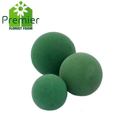 Wet Floral Foam Spheres / Balls - From 9 to 30 cm / Choose your size + Amount